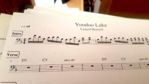 Leadsheet für Klavier